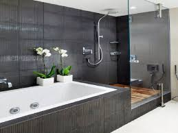 gray tile bathroom ideas 129 best modern bathrooms images on room bathroom