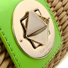 kate spade wicker bag straw lxrandco pre owned luxury vintage