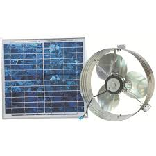solar attic vent fan ventamatic 1000 cfm solar powered gable mount power attic ventilator