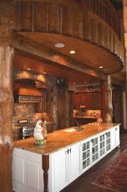 the importance of decorating log homes best kitchen design