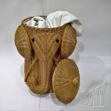 Laundry Room Table With Storage by Bedroom Alluring Natural Rattan Elephant Wicker Hamper For