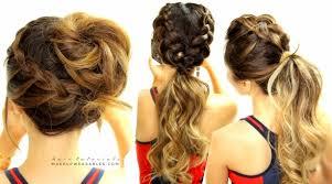 plait updo hairstyles cutest braided hairstyles mohawk braid messy bun