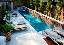Pools For Small Backyards by Furniture Lovely Images About Small Backyard Pools Narrow Spaces