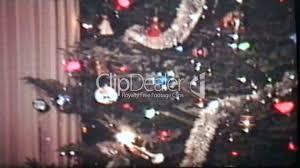 teenagers enjoy christmas tree 1980 vintage 8mm film royalty