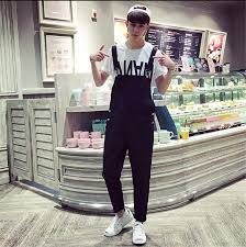 mens jumpsuit fashion 2018 wholesale fashion jumpsuit casual cotton