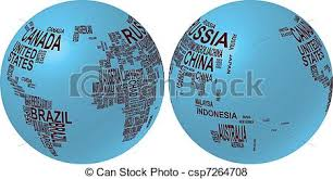 world map with country names image illustration of world map globe with country name vector search