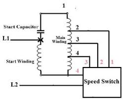 100 hampton bay ceiling fan capacitor wiring diagram