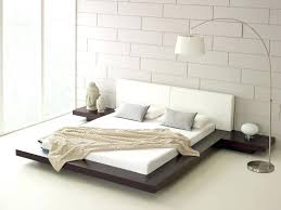 minimalist bed frame bedroom design soft queen size mattress and