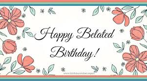 belated birthday wishes images i you messages for her