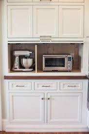 Kitchen Oven Cabinets Best 25 Appliance Cabinet Ideas On Pinterest Diy Hidden Kitchen