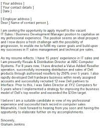 cover letter sales job salesperson amp marketing cover letters