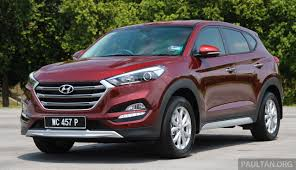 kereta hyundai hyundai tucson 1 6 t gdi turbo and 2 0 crdi diesel variants coming