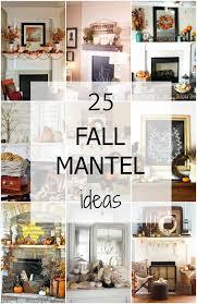 diy fall mantel decor ideas to inspire landeelu com 25 inspiring fall mantel decorating ideas a blissful nest