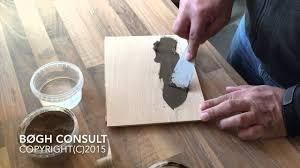 Laminate Floor Repair Paste Wood Repair With Powder Filler Youtube