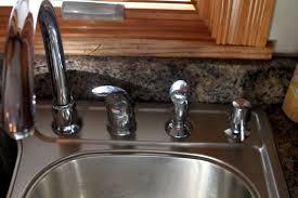 Fixing Leaking Kitchen Faucet by Moen Single Handle Bathroom Sink Faucet Repair