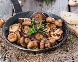 comment cuisiner chignons frais recette fricassée de chignons