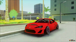 tuned subaru brz brz rocket bunny for gta san andreas