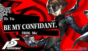 custom valentines day cards s day just got better with persona 5 cards
