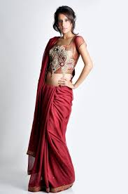 Latest Trends by Latest Trend In Saree Corset Saree Blouse Design Bollywood