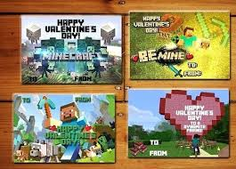 minecraft s day cards printable printable minecraft s instant