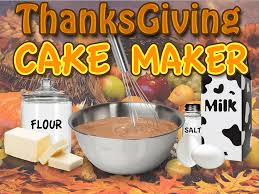 thanksgiving cake maker bake u0026 cook dessert food android apps