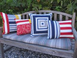 patio cushions and pillows outdoor pillow cover pool patio pillows striped indoor