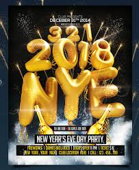 30 best new year u0027s eve flyers and invitations