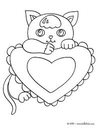 kawaii kitten coloring pages hellokids