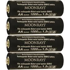 can you use regular batteries in solar lights moonrays rechargeable 1 000mah nimh aa batteries for solar powered