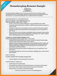100 housekeeping hotel resume room divisions manager u0027s