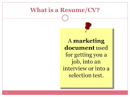 What Is An Resume Michael Ogbaa Resume Writing Workshop What Is A Resume Cv 2 A