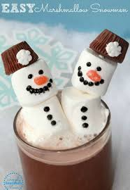 snowman marshmallows how to make an easy marshmallow snowman simply southern