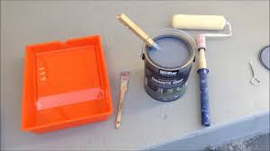 Behr Porch And Floor Paint On Concrete by How To Restore A Porch Using Behr Premium Granite Grip Concrete