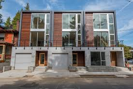image result for modern townhouse portland townhouse row house