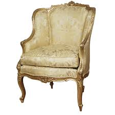 Louis Xv Armchairs 18th C French Louis Xv Gilt Carved Bergere For Sale At 1stdibs