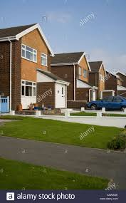 sunday afternoon 1960 s suburban housing estate neat row of