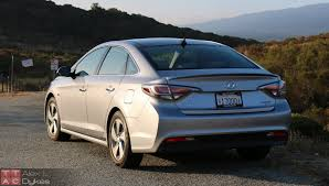 2016 hyundai sonata hybrid exterior 009 the truth about cars