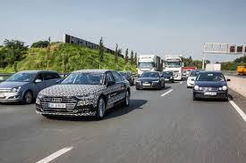jammin u0027 in the rush hour with the next audi a8 u0027s self driving tech