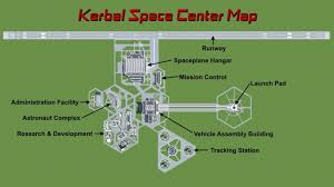 ksp map kerbal space center minecraft project
