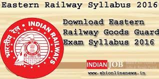 exam pattern of goods guard download eastern railway syllabus 2016 goods guard exam pattern