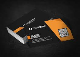 Business Card With Qr Code Professional Qr Code Business Card By Glenngoh On Deviantart