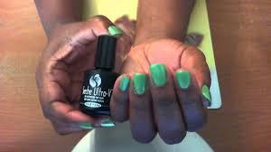 seche ultra v top coat nail polish review youtube
