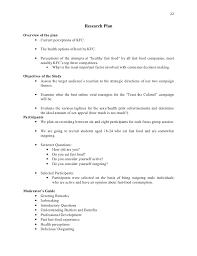 Fast Food Job Resume by Kfc Research Analysis