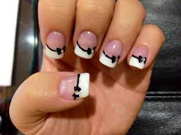 bow tie nails nail art pinterest bow tie nails