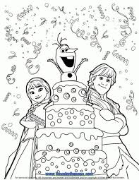 disney frozen happy birthday coloring pages windows coloring