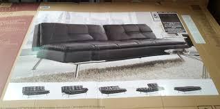 black leather futon costco furniture shop