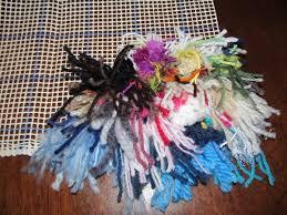 Rug Hooking Supplies Australia Making A Latchhook Rug Thriftyfun