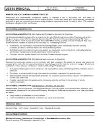 sle resume templates accountants compilation report income accounting administrator resume exles templates office