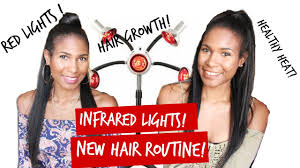 how we use infrared heat for hair growth relaxed hair youtube
