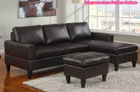Apartment Sized Sectional Sofa Black Leather Apartment Size Sectional Sofa